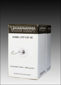 Kabel skrętka Voice Kraft UTP CAT 5E