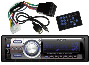 Radio PY8118D  DVD CD/MP3/MP4/DIVIX/USB/SDHC/DVD