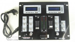MIKSER AUDIO MP3 2xSTEREO + 2xUSB/SD + 2xBLUETOOTH