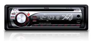 Radio Peiying Alien PY6128D 4x45 CD/MP3/MP4/USB/SDHC/DVD/DIVIX